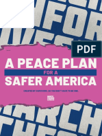 Peace Plan For A Safer America