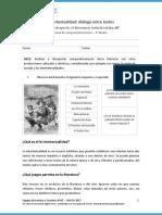 Intertextualidad Dialogo Entre Textos