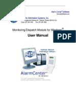 Alarm Center Users Manual
