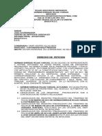 Memorial Kia Picanto -Derecho Peticion