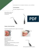 Instrumental y Materiales cirugía periodontal curso