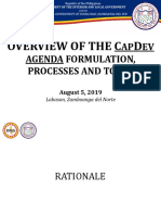 Overview of the CapDev Process