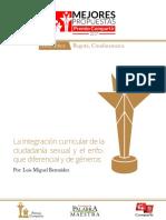 La Integración Curricular de La Ciudadanía Sexual Luis Miguel Bermúdez