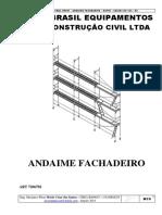 Andaime Fachada - Memorial Descritivo - Nopin Brasil