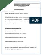Actividad 3 Calculo e Interpretacion de Indicadores Financieros