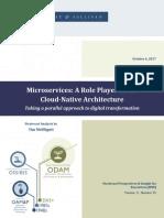 Microservice in cloud native