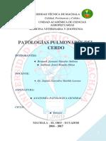 Patologias en Pulmones de Cerdos Proyecto