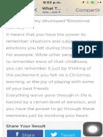 Inteligencia Emocional Text Evaluacion