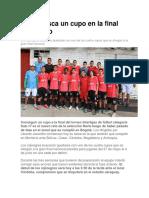 Norte Busca Un Cupo en La Final Del Torneo