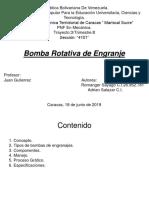 Bomba Rotativa de Engranaje