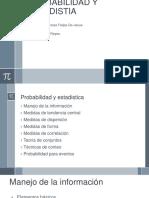 Probabilidad y Estadistia