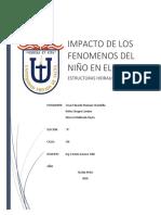INFORME 3ra Unidad Estructuras Hidraulicas