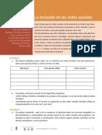 10.5 E La Inclusioin y Las Redes Sociales R