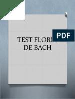 Test Flores de Bach