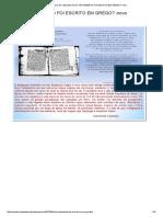 Ivonil Servo de Yahshuah_ Novo Testamento Foi Escrito Em Grego_ -Novo