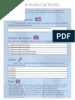 Teste Modelo de Receita (Editável)