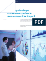Four Ways to Shape Customer Experience Measurement for Impact