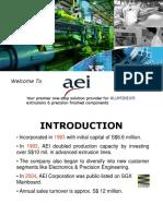 Presentation AEI Corp General