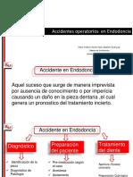 Accidentes Operatorios en Endodoncia