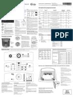 Manual Uso y Cuidado Lavadora MABE Referencia Lma78100wgab00