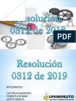 EXPOSICION RESOLUCION 0312