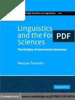 (Cambridge Studies in Linguistics) Marcus Tomalin - Linguistics and the Formal Sciences_ the Origins of Generative Grammar-Cambridge University Press (2006)