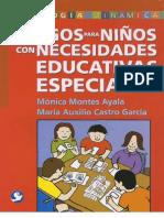 Libro Dinamicas Para Ninos Con Necesidades Educativas Especiales (completo)