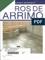 Muros de Arrimo - Oswaldemar Marchetti