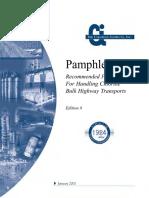 Pamphlet 9 - Recommnended Practices for Handling Chlorine Bulk Highway Transport