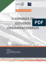 II Jornadas de Estudios Organizacionales Ponencias