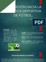 Práctica deportiva futbol