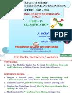 ABP DWDM UNIT 4 Classification 1