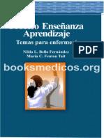 Proceso Enseñanza Aprendizaje Tema Para Enfermeria