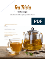 Tea Trivia - 101 Tea Recipies