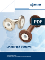 Ptfe Lined Pipe Catalog