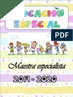 Agenda Educación Especial