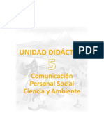 Unidad Didactica 5 Integrada 2do Grado