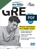 Craking the GRE