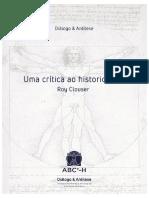 Uma critica so historiador