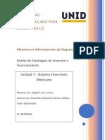 Unidad 7 Sistema Financiero Mexicano. OAGF