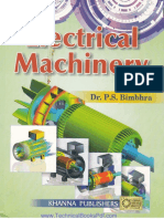 Electrical Machinery by Dr. P S Bimbhra