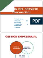 Gestión Servicio