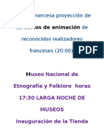 programa noche museos
