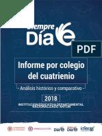 Informe Colegio 2018