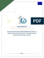 Documento Procedimiento de Devolución de Productos