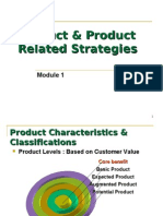 Copy of M1 Product & Product Related Strategies