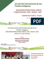 ENCUENTRO INTERCULTURAL CHIBCHA;  NACIONES