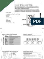 Speedzone Sport - Instruction-Guide