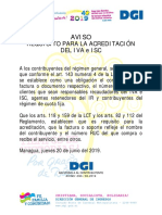 Requisitos IVA