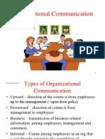 Chap 11 - Organizational Communication.ppt